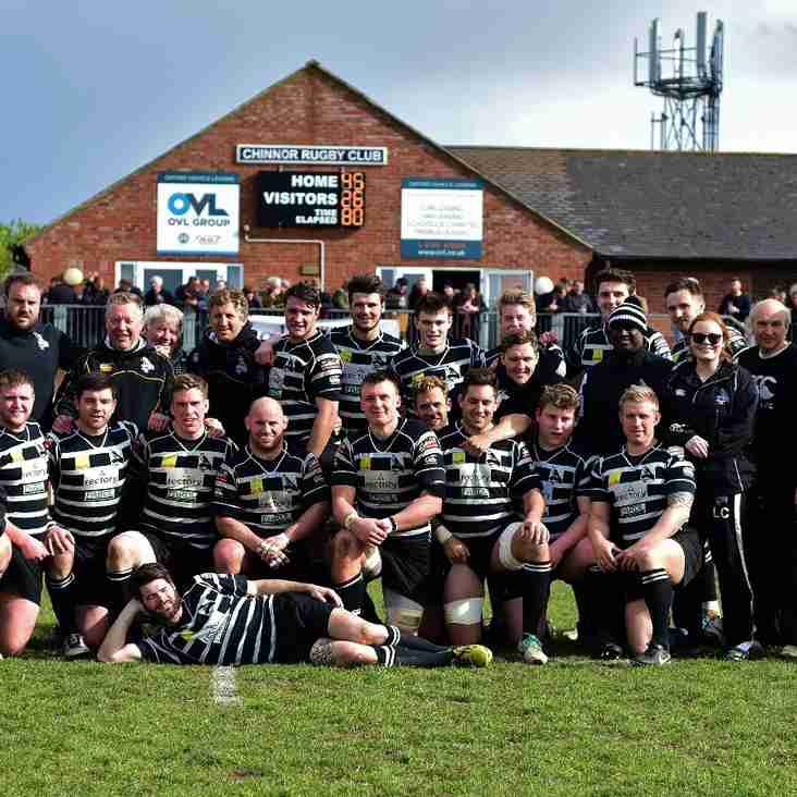 Chinnor RFC Squad for upcoming 2016/2017 season