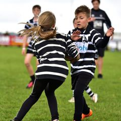 Chinnor RFC 1st XV - U11's Half Time Game 08/10/16