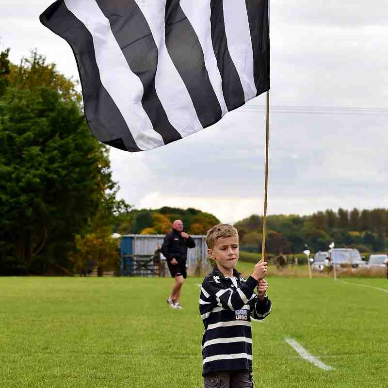 Chinnor RFC 1st XV & U10's Tunnel 22/10/16