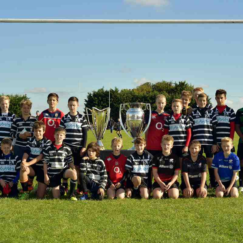 Chinnor RFC U13's & Premiership-European Cups 09/10/16