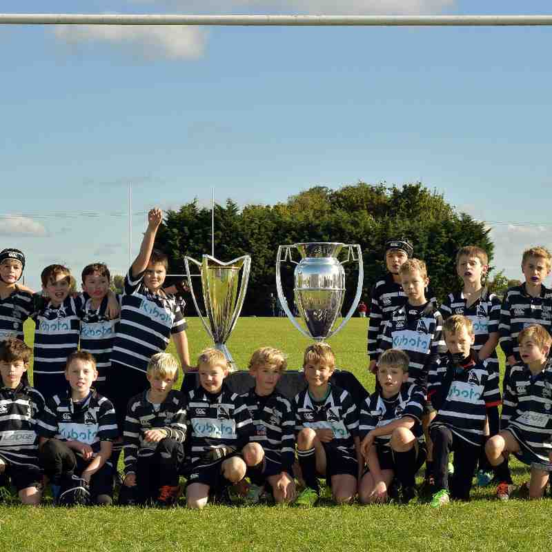 Chinnor RFC U10's & Premiership-European Cups 09/10/16