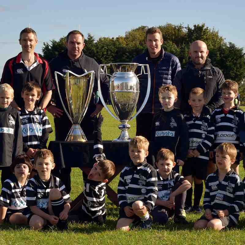 Chinnor RFC U7's & Premiership-European Cups 09/10/16