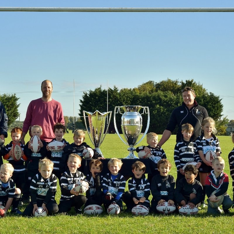 Chinnor RFC U6's & Premiership-European Cups 09/10/16
