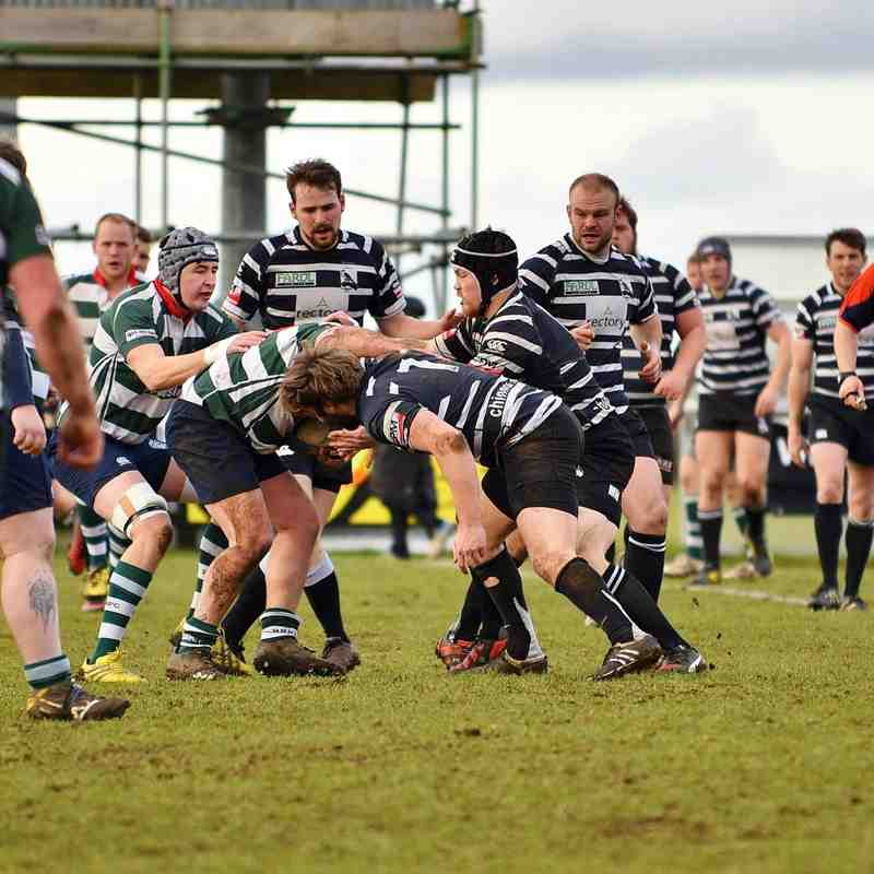 Chinnor RFC 3rd XV 'Wildboys' Vs. Reading RFC 2nd XV 28/01/17