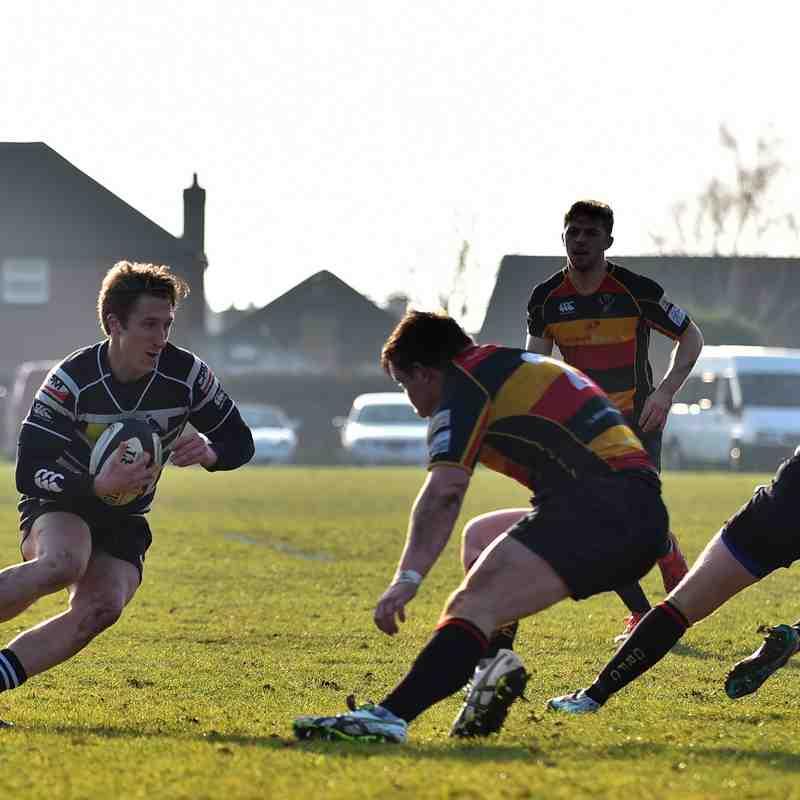 Chinnor RFC 1st XV Vs. Cinderford RFC 18/02/17