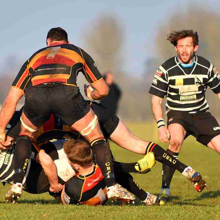 Chinnor take charge at Cinderford and move near to the top of the table.