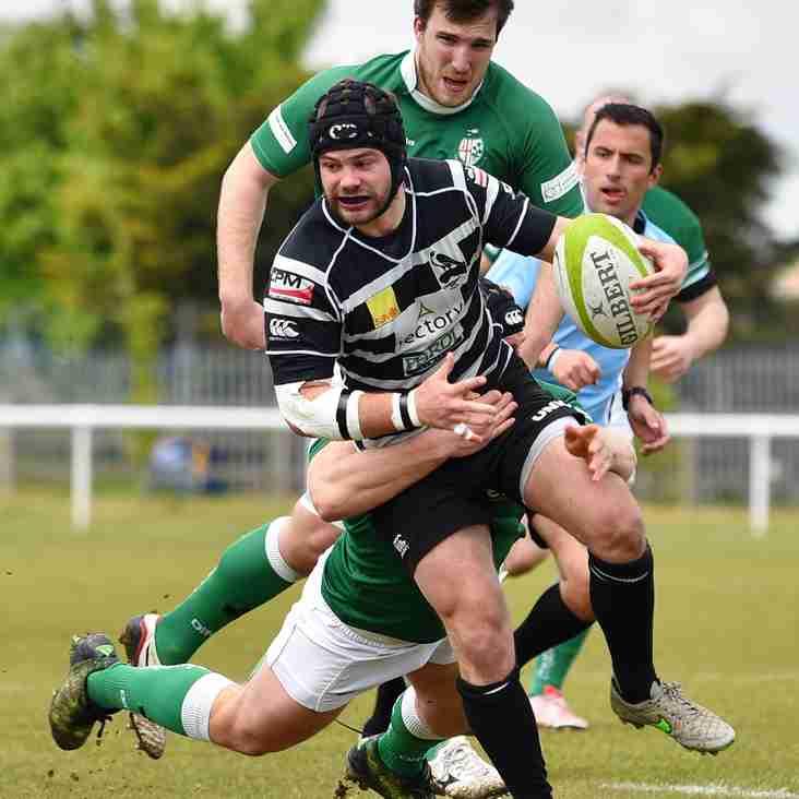 Chinnor 1st XV Match report v London Irish Wild Geese