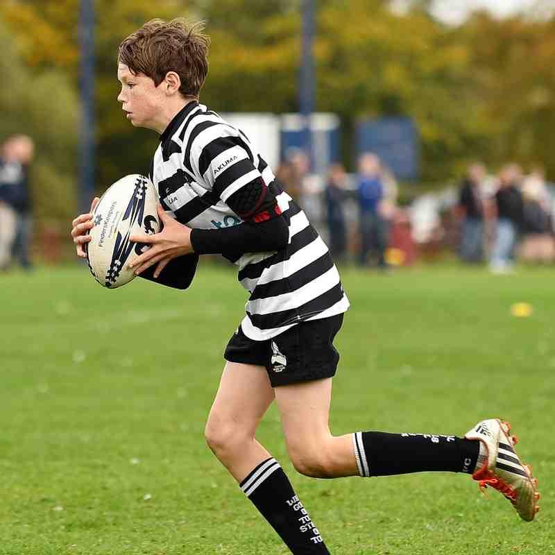 Oxford Quins RFC Vs. Chinnor RFC U12's 15/10/17