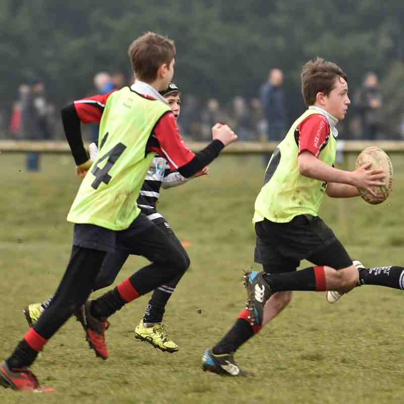 Chinnor RFC U12's Vs. Wallingford RFC & Chipping Norton RFC 25/03/18