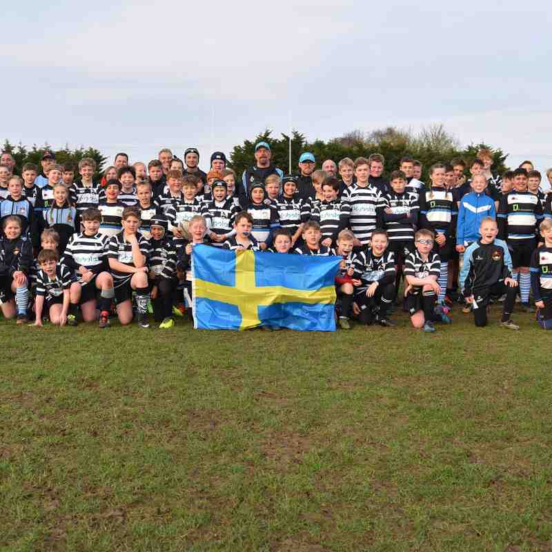 Chinnor RFC U10's Vs Uppsala RFC 06/04/18