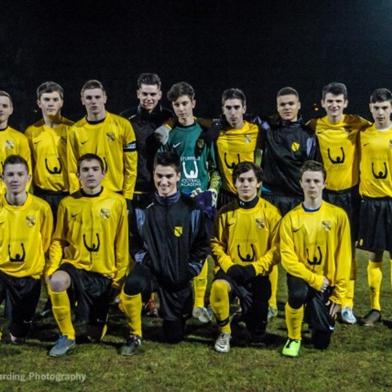 U18s lose to Alton Youth U18 Youth 1 - 4