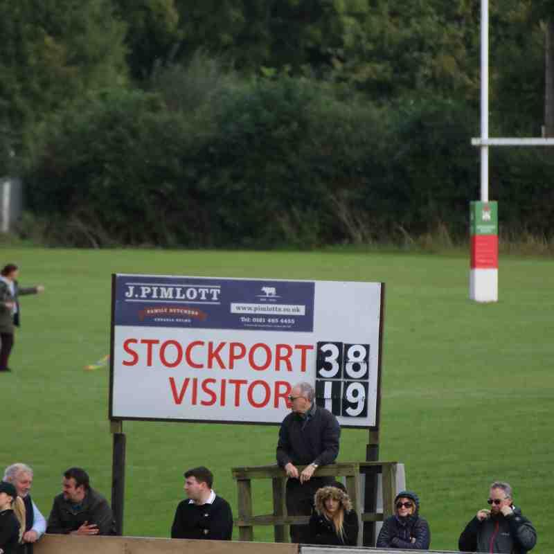 1st Stockport Vs Carlisle (H) 16-09-17