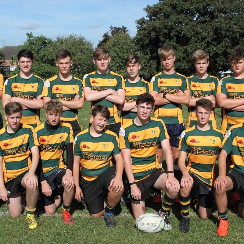 Under 16 lose to Kettering 31 - 10
