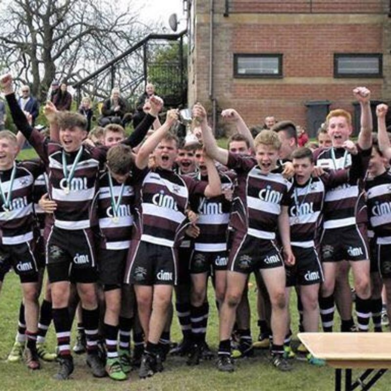 U15's Crowned Staffordshire County Champions!