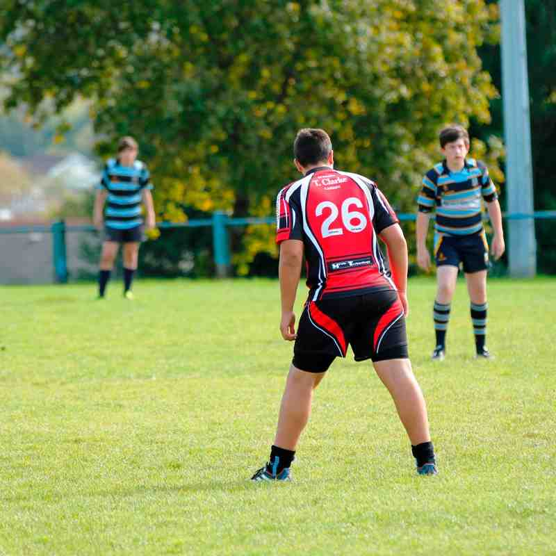 U14's V Llanishen 2nd October