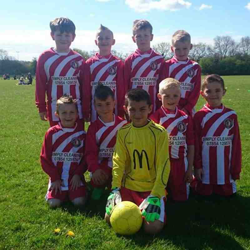 My new Borrowash vics u9's players