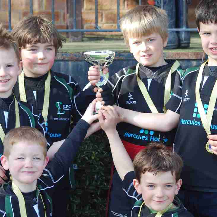 Winners of the Evesham mini rugby festival 2015