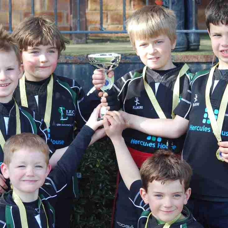 Winners of the Evesham mini rugby festival 2015