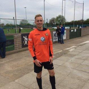 Midfielder Captain Kirk dons gloves in 4 goal thriller