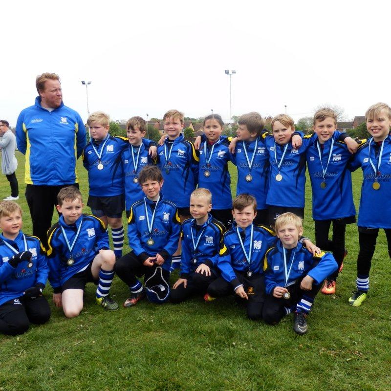 U9's Victorious at the St Neots Festival