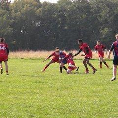 Langworthy Reds U15's vs Accrington Wildcats - 11.10.15