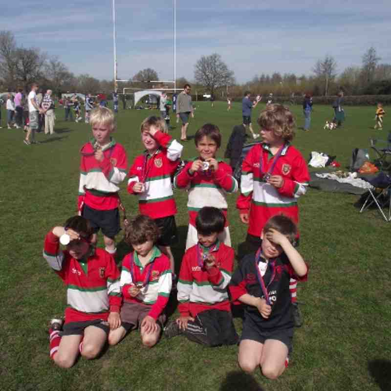 Under 7s Runners Up in the Plate - County Championship 2011/12