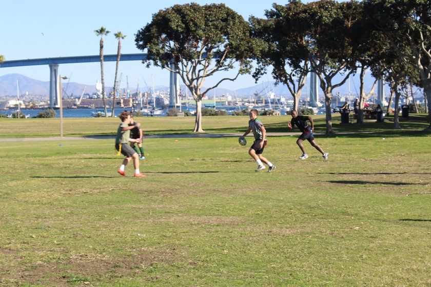 Sunday Touch Rugby at Tidelands Park 11 to 12:30
