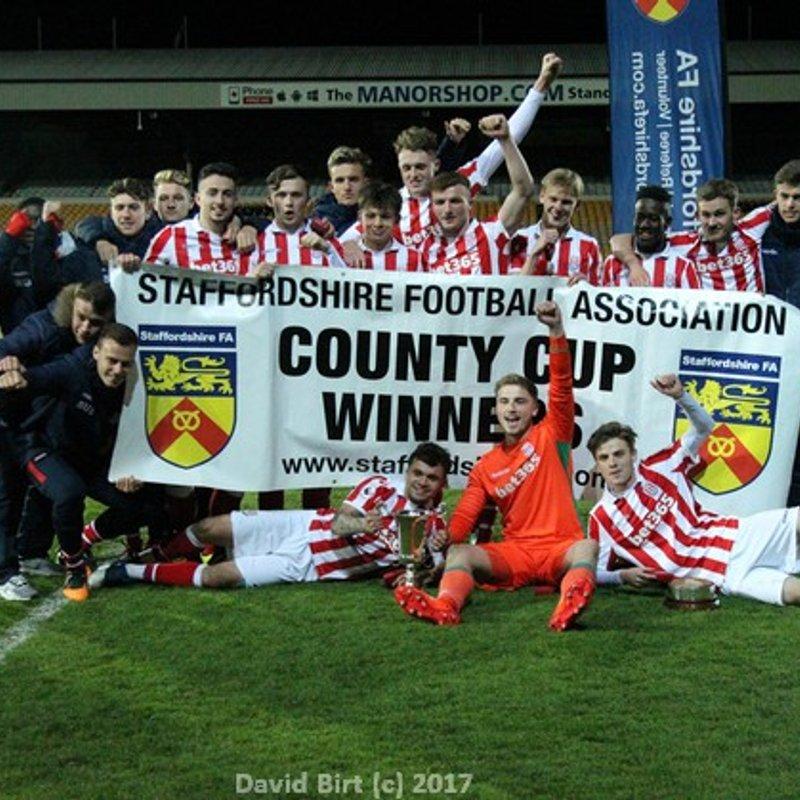 Stoke City  Staffs County Cup @Port Vale 26-04-17