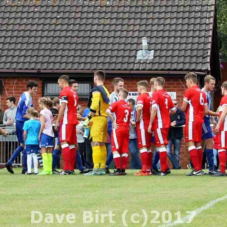 Interview with Scott after the Heath Hayes Friendly
