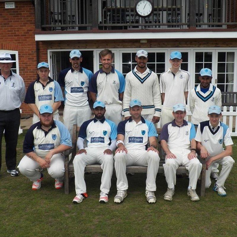 Ripley 275/7 - 272/7 Chobham Cricket Club