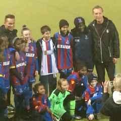 U11 CPLFC with Ajax Academy Patrick & BB