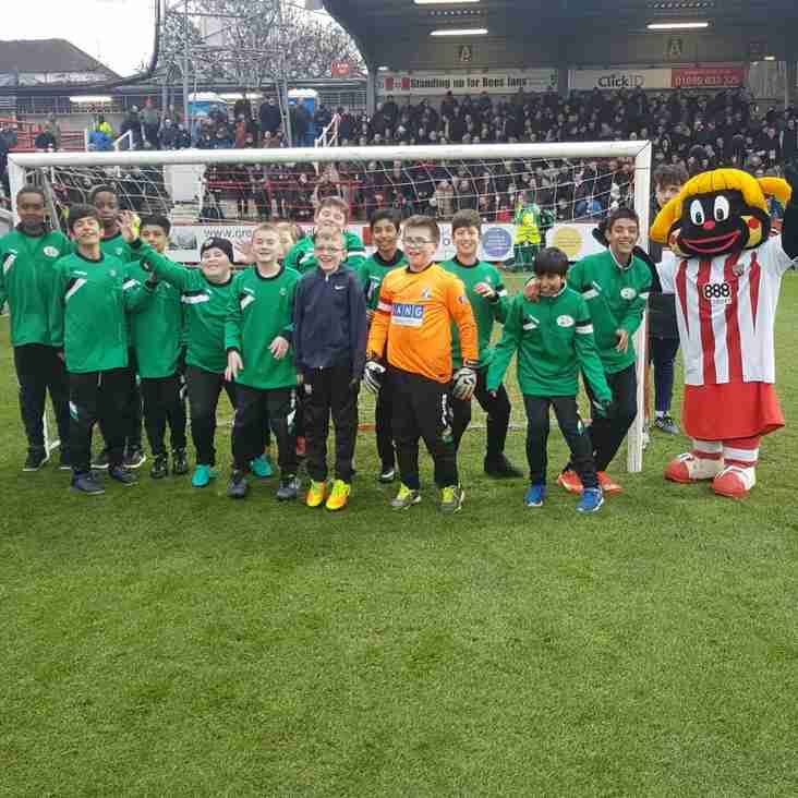 Under 12s at brentford f.c