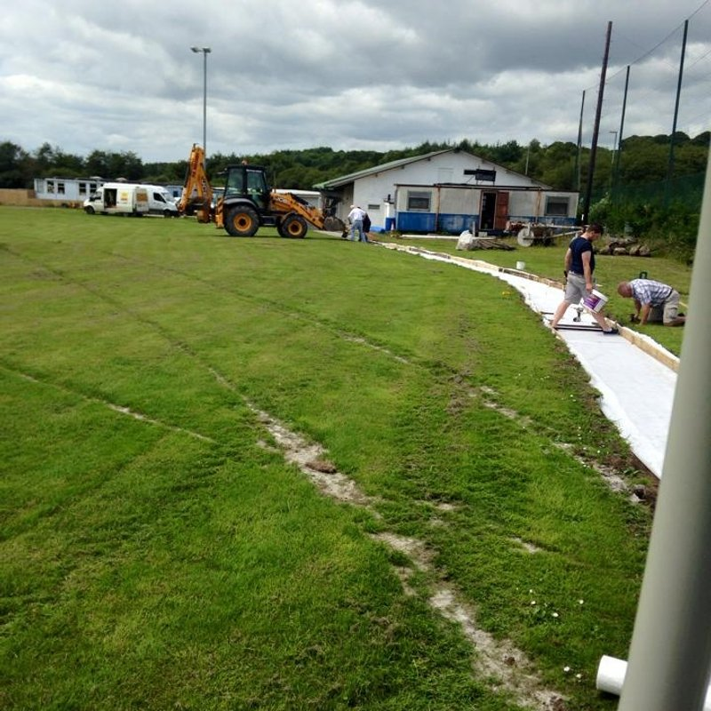 New Path to the Main Pitch
