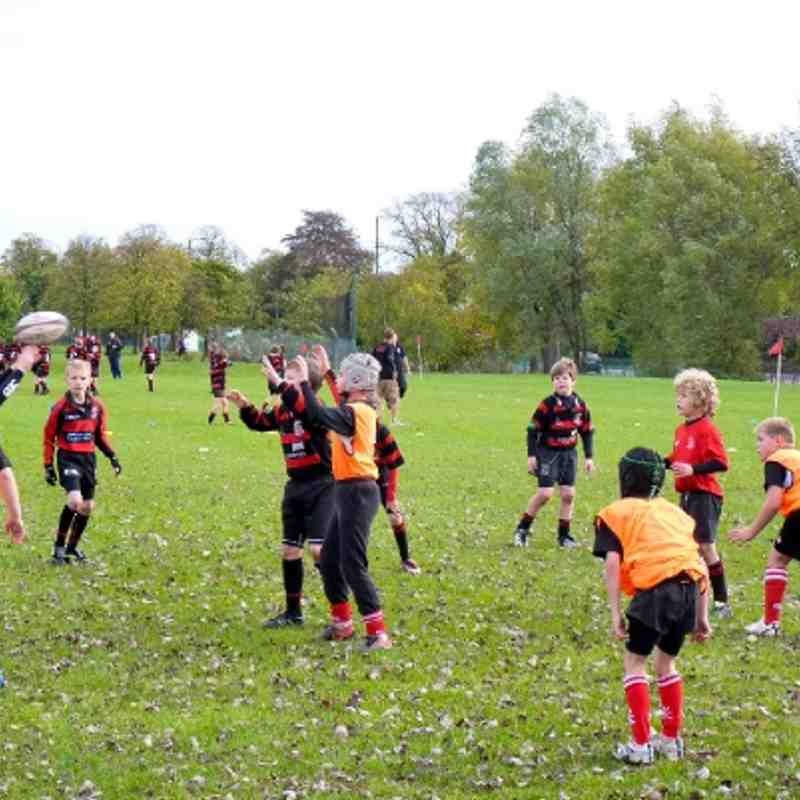 U10s v Moseley, 9 Oct 2011