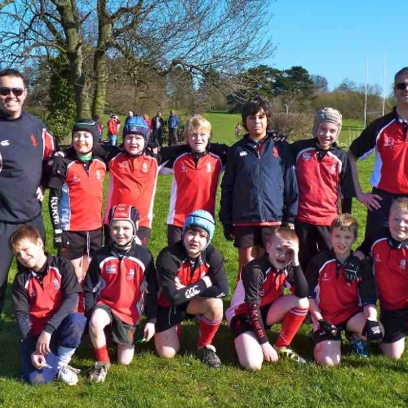 U10s vs Tamworth & Burntwood, 11 March 2012