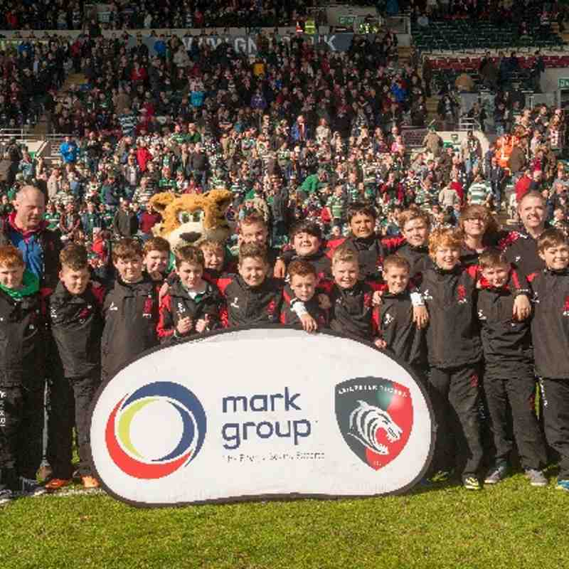 Under 12s 2014 Tour - Leicester Tigers Match Day Coaching Clinic