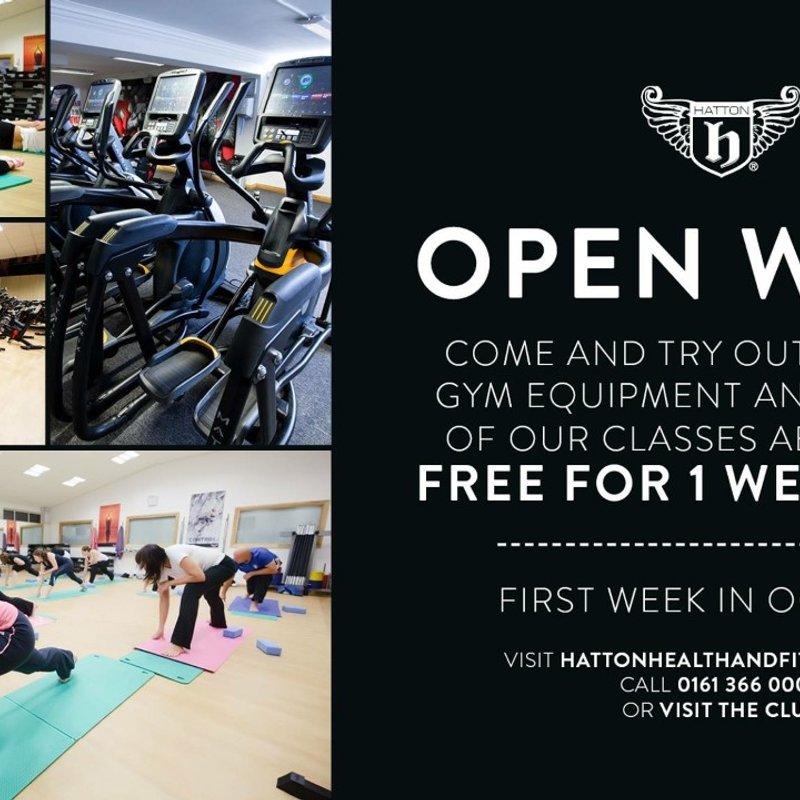 Open week at Hatton Health & Fitness