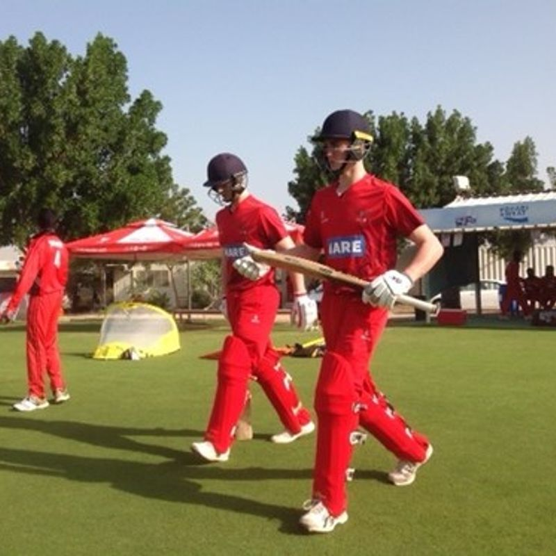 Balderson hits 50 in Oman