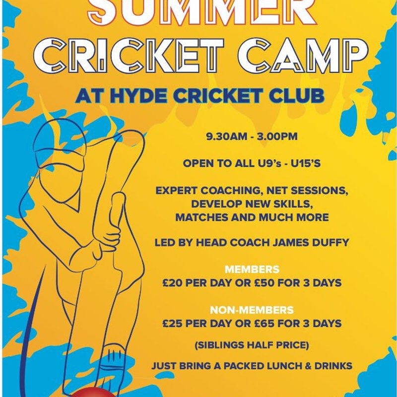 Summer Cricket Camp 2018