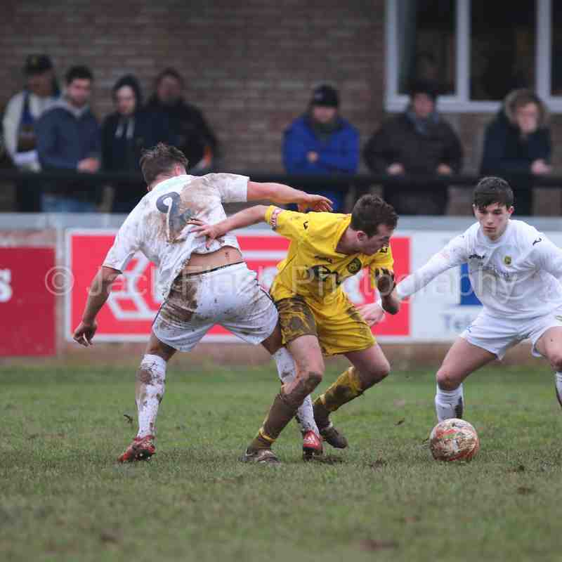Tiverton Town vs Yate Town 20/2/16