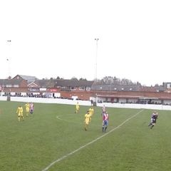 1st team v Bromsgrove Sporting - 26th December 2014