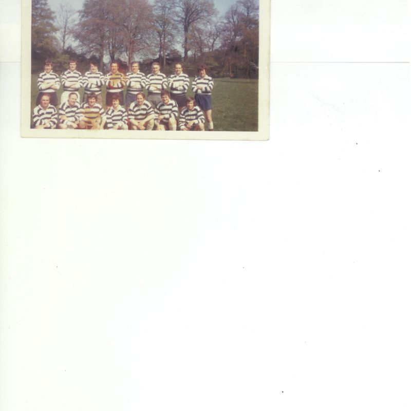 Birchfield RUFC Vets 1974/75