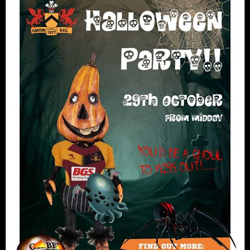 Canton Minis & Junior Halloween Party