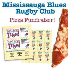 Mississauga Blues Pizza Fundraiser!