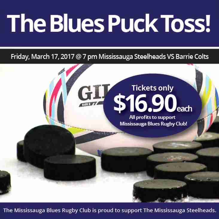 The Blues Puck Toss, Join Us!