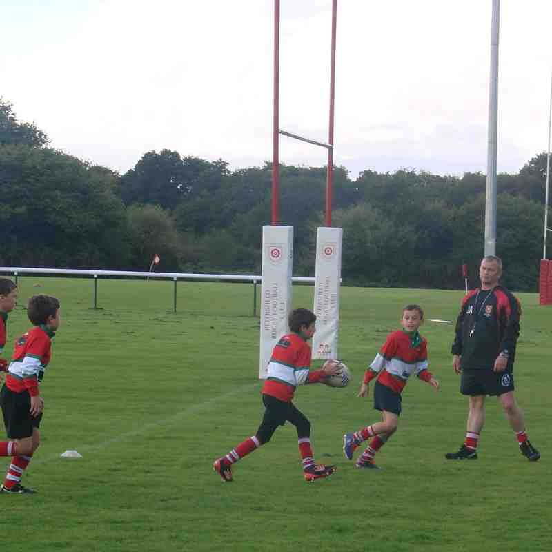 U10s Training with James