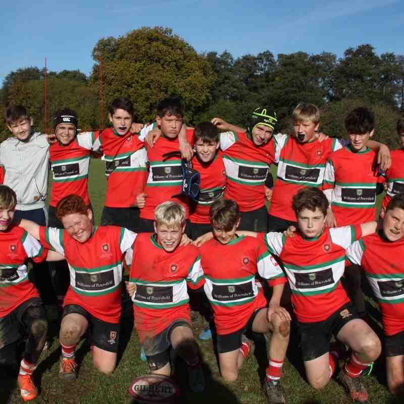 2016-11-12 Hants Cup U13 v Romsey