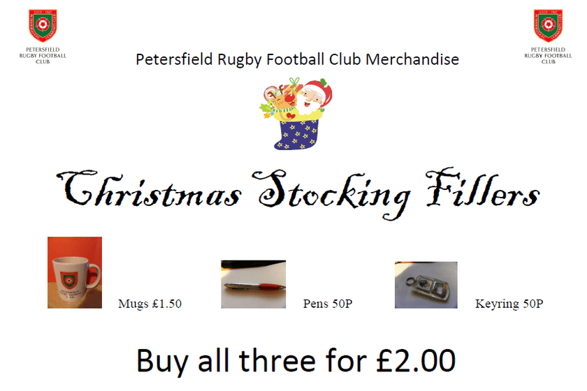 PRFC Christmas Gifts Available Now!