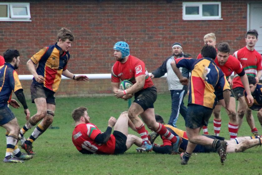 Six Not Out for Field 1st XV