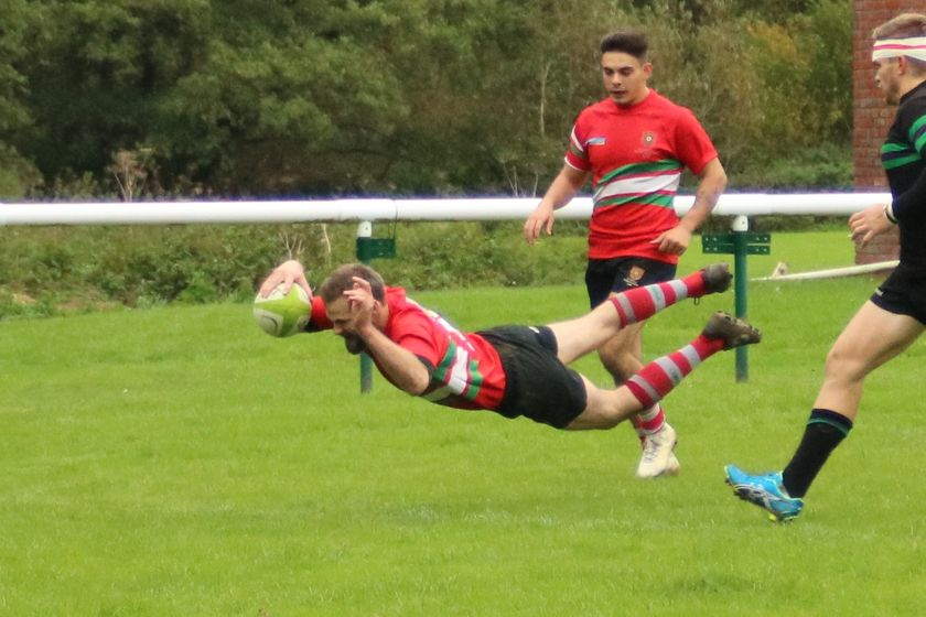 First XV Rally to Beat Back the Vandals